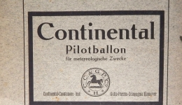 1922 Continental Pilot Balloon (for Meteorological Purposes), Contributions to the Physics of the Free Atmosphere, Germany