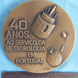 MEDAL, BRONZE: National Institute of Meteorology and Geophysics, Portugal, 1986