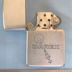 ADVERTISING: Cigarette Lighter, Darex, Zippo