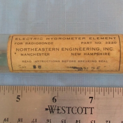 HYGROMETER ELEMENT: Electric, Northeastern Engineering