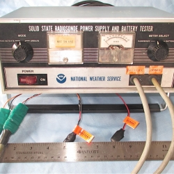 SUPPORT EQUIPMENT: Power Supply and Battery Tester, NOAA/NWS, Type 1