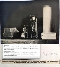 1932--Jaumotte-and-Dines-Recording-Meteorographs-Sweden
