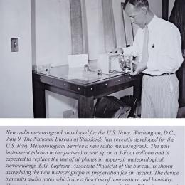 1937--Navy Radio Meteorograph Wash. DC
