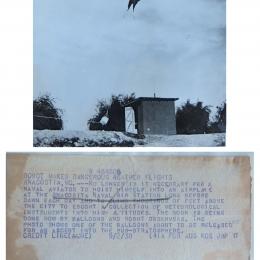 1938 - Radiosonde release - Anacostia MD