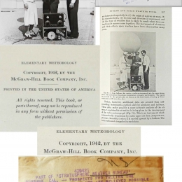 1938--TWA/CalTech Radio-meteorograph Launch Burbank CA