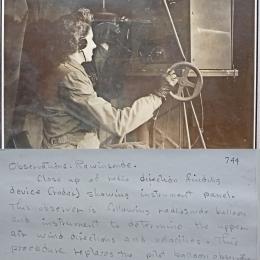 1940s?--Tracking a Radiosonde
