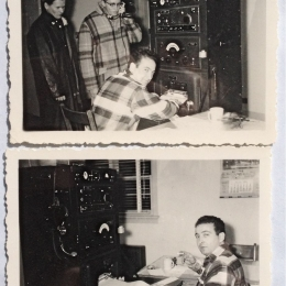 1942--Radiosonde Crew, Port Hardy, B.C.