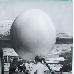 1948--Launch Preparation on USCGC Northwind, Arctic Region