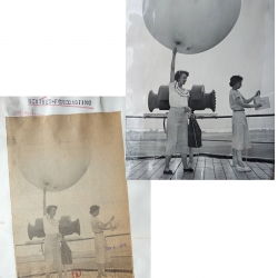 1949--Weather Balloon Launch