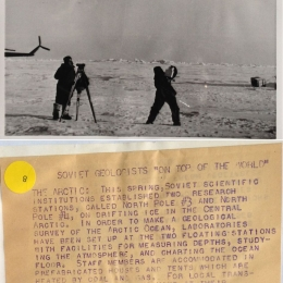 1954--Soviet Radiosonde Launch in the Arctic