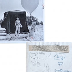 1954--Army Radiosonde Launch Fort Custer